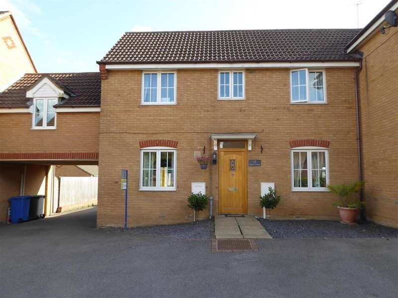 3 Bedrooms Link Detached House for sale in Tailby Avenue, Kettering