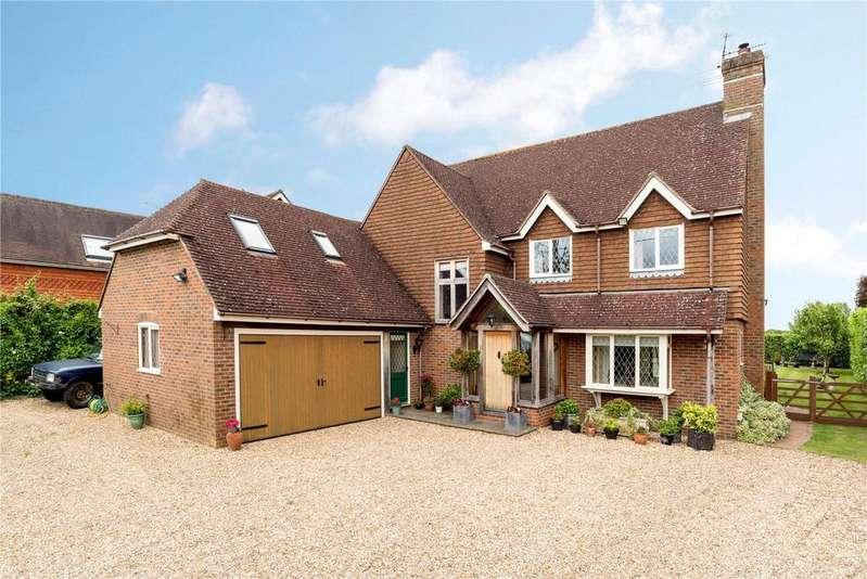 5 Bedrooms Detached House for sale in Rectory Lane, Bentley, Farnham, Surrey, GU10