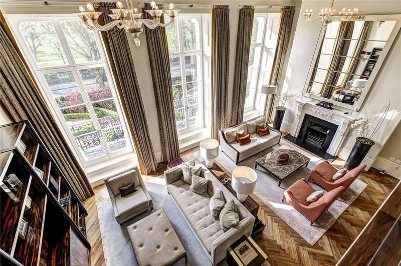 3 Bedrooms Maisonette Flat for sale in The Lancasters, London, W2