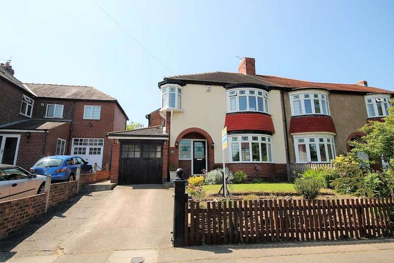 3 Bedrooms Semi Detached House for sale in Hartburn Avenue, Stockton-On-Tees