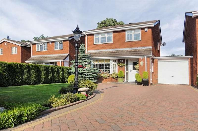 3 Bedrooms Detached House for sale in Manifold Close, Burntwood, Staffordshire