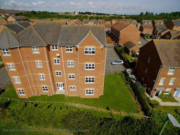 2 Bedrooms Flat for sale in DRESWICK COURT, MURTON, SEAHAM DISTRICT