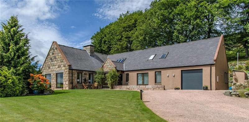 4 Bedrooms Detached House for sale in Craigiestep, Cushnie, Alford, Aberdeenshire, AB33