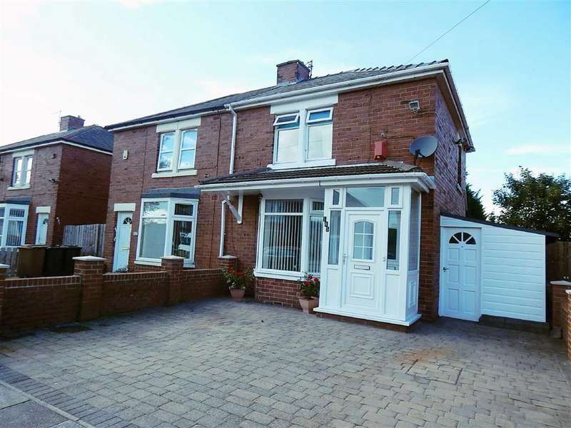 2 Bedrooms Semi Detached House for sale in High View North, High Farm, Wallsend, NE28