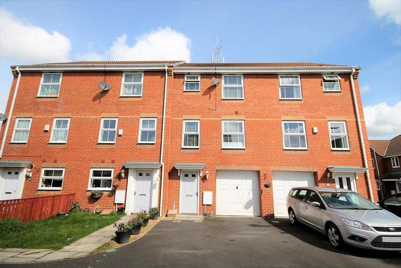 4 Bedrooms Terraced House for sale in Summerfield Grove, Thornaby, Stockton-On-Tees