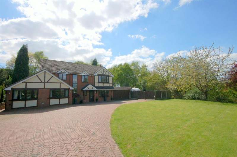 6 Bedrooms Detached House for sale in Mount Pleasant, Kidsgrove