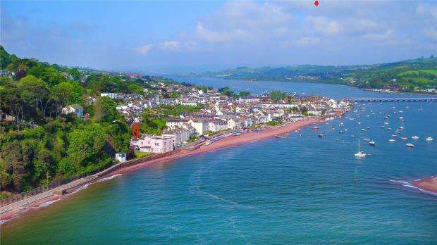 2 Bedrooms End Of Terrace House for sale in Marine Parade, Shaldon, Devon