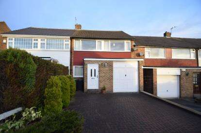 3 Bedrooms Terraced House for sale in Kent Crescent, Pudsey, Leeds, West Yorkshire