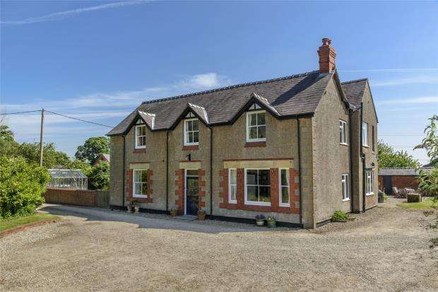 7 Bedrooms Detached House for sale in New Hall, Dudleston, Ellesmere, Shropshire