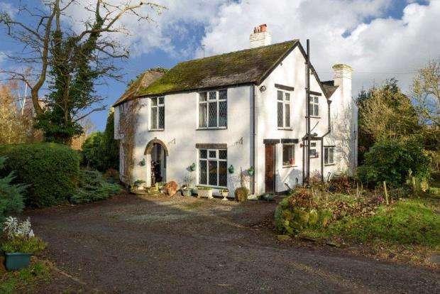 4 Bedrooms Detached House for sale in Rosebank, Leigh Road, Minsterley, Shrewsbury