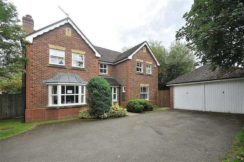 4 Bedrooms Detached House for sale in Chepstow Close, Tytherington