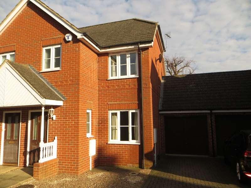 2 Bedrooms Semi Detached House for rent in OLNEY MK46 4JJ