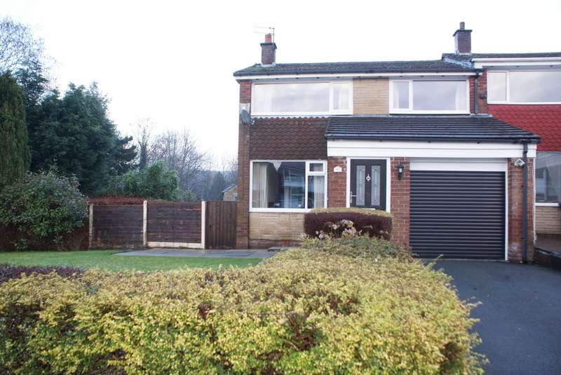 2 Bedrooms End Of Terrace House for sale in Hough Fold Way, Harwood