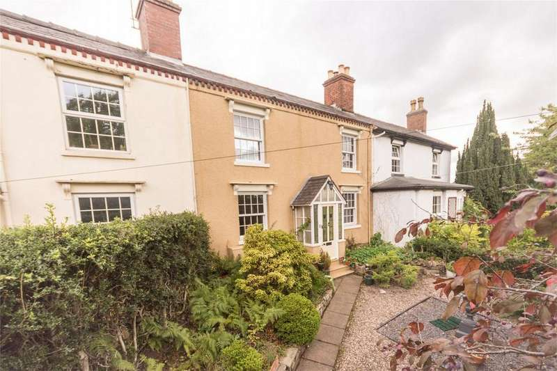 4 Bedrooms Terraced House for sale in Mount Pleasant, Trent Valley Road, Lichfield, Staffordshire