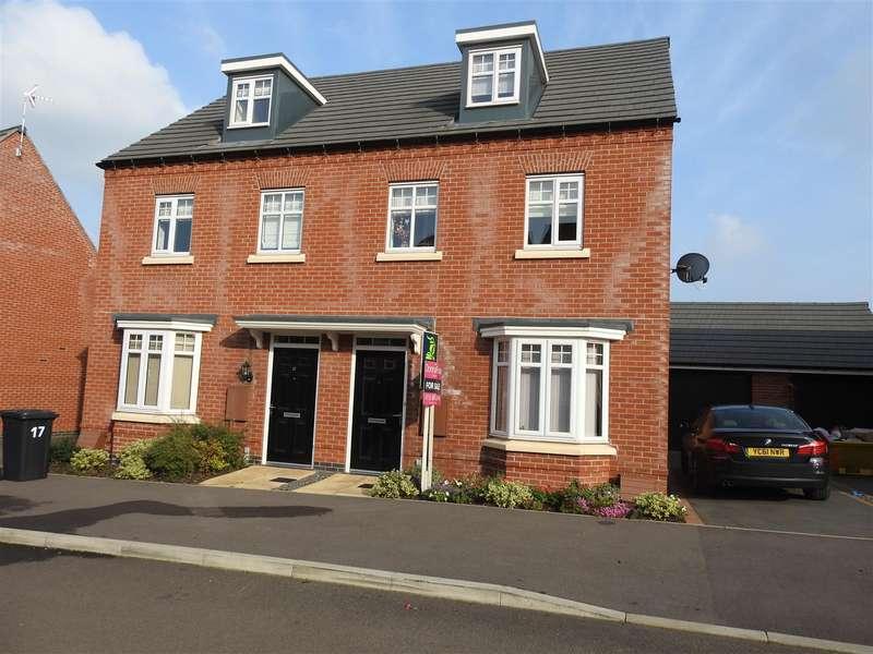 3 Bedrooms Semi Detached House for sale in Latin Grove, Hucknall, Nottingham