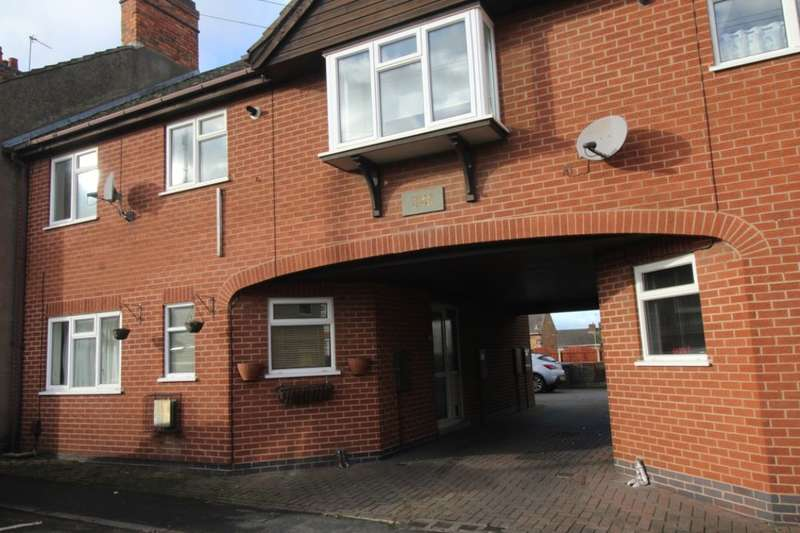 2 Bedrooms Flat for sale in Stafford Street, Barwell, Leicester, LE9