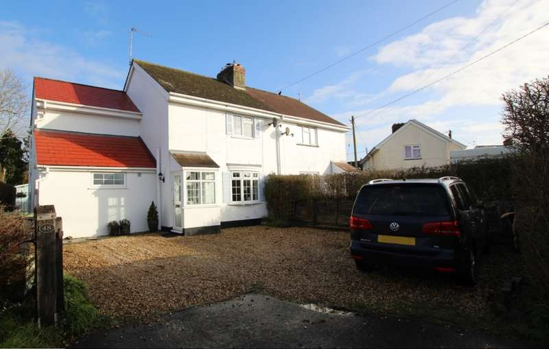3 Bedrooms Semi Detached House for sale in LONGHAM