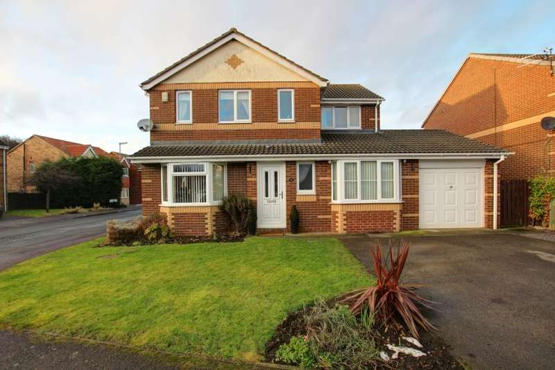 4 Bedrooms Detached House for sale in St. Cuthberts Drive, Sacriston, Durham, DH7