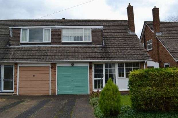 3 Bedrooms Semi Detached House for sale in Churchill Avenue, Boothville, Northampton NN3 6NY