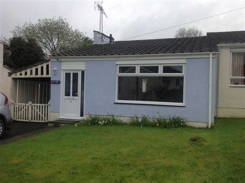 2 Bedrooms Semi Detached Bungalow for sale in The Moorings, St Dogmaels, Cardigan