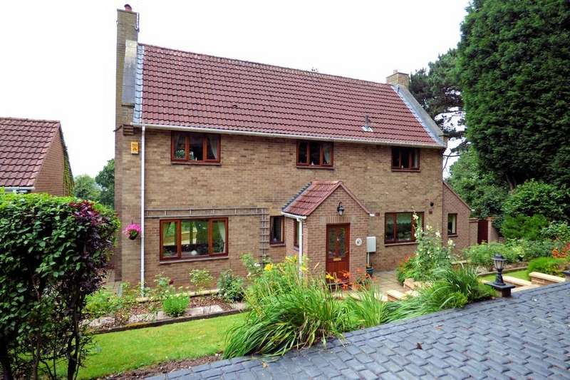 3 Bedrooms Detached House for sale in The Close, Bladon Houses