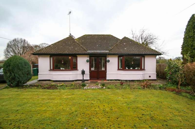 3 Bedrooms Detached Bungalow for sale in Mandalay, Tarporley Road, Duddon, CW6 0EW