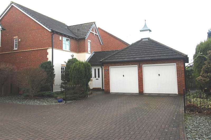 4 Bedrooms Detached House for sale in Goldthorpe Close, Northburn Manor, Cramlington