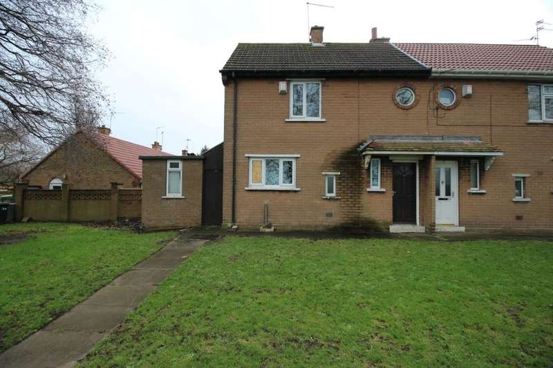 2 Bedrooms Semi Detached House for sale in Wellingtonia Drive, Campsall, Doncaster, DN6