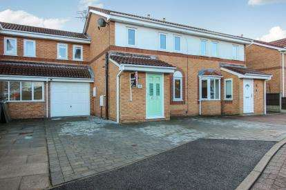 3 Bedrooms Semi Detached House for sale in Anchor Way, Lytham St Annes, Lancashire, England, FY8
