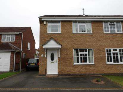 3 Bedrooms Semi Detached House for sale in Thorndale, Ibstock