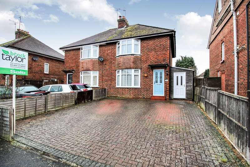3 Bedrooms Semi Detached House for sale in Eversfield Road, Horsham