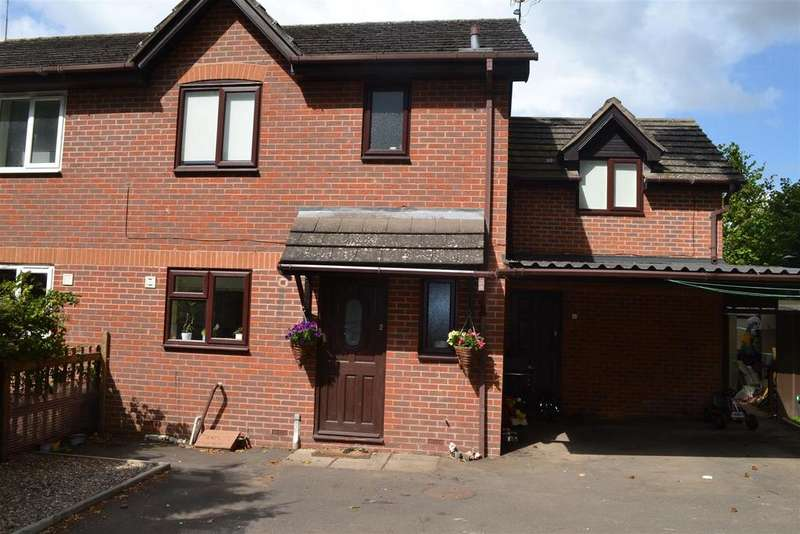 3 Bedrooms Semi Detached House for sale in The Mallards, Leominster