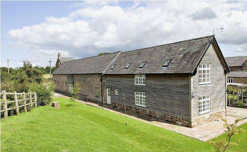 5 Bedrooms Barn Conversion Character Property for sale in Ledsham Village, Cheshire