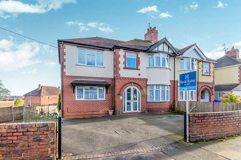5 Bedrooms Semi Detached House for sale in Chell Green Avenue, Stoke-On-Trent, ST6