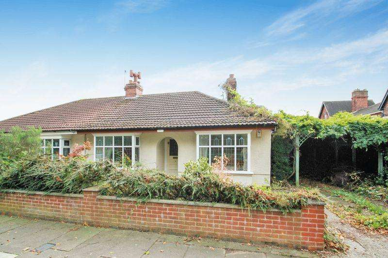 2 Bedrooms Semi Detached Bungalow for sale in Adelaide Grove, Hartburn, Stockton TS18 5BT