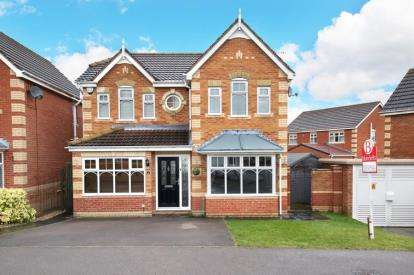 4 Bedrooms Detached House for sale in Empire Drive, Maltby, Rotherham, South Yorkshire