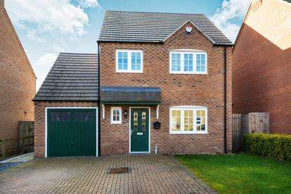 3 Bedrooms Detached House for sale in Hancock Drive, Bardney, Lincoln, Lincolnshire