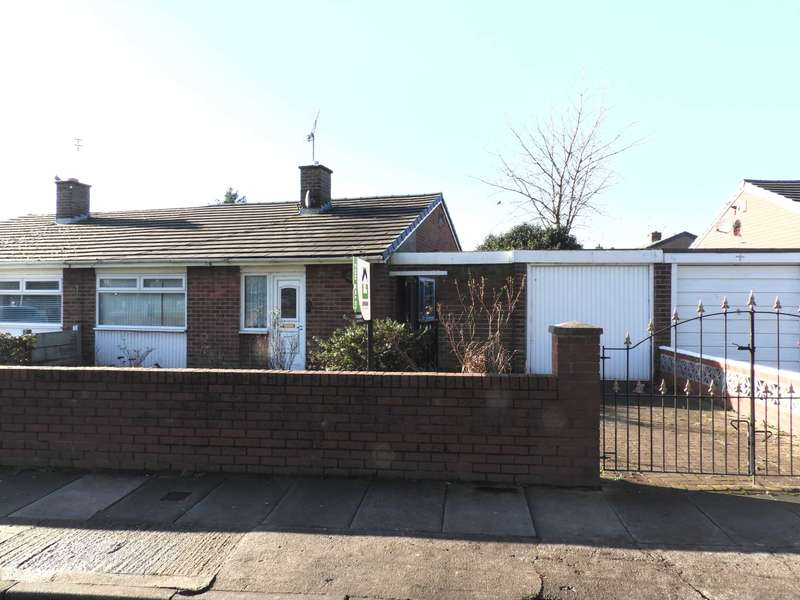 2 Bedrooms Semi Detached Bungalow for sale in Hall Drive, Old Hall Estate