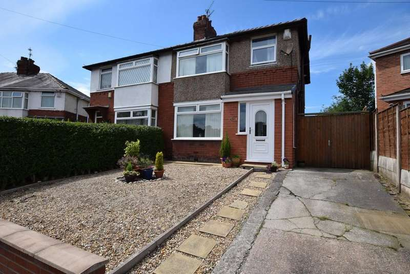 3 Bedrooms Semi Detached House for sale in Langdale Grove, Haresfinch, St. Helens