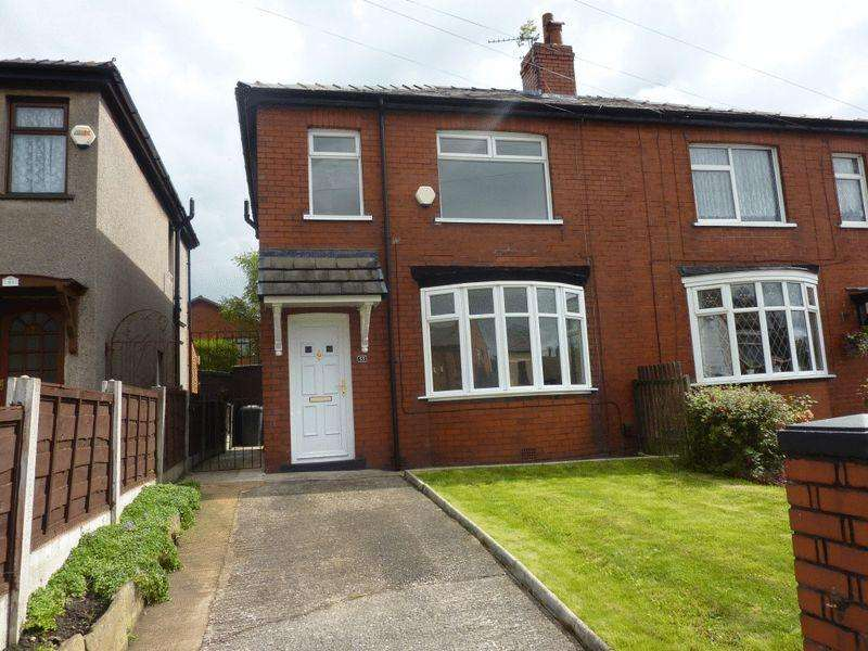3 Bedrooms Semi Detached House for sale in Leigh Road, Westhoughton, Bolton