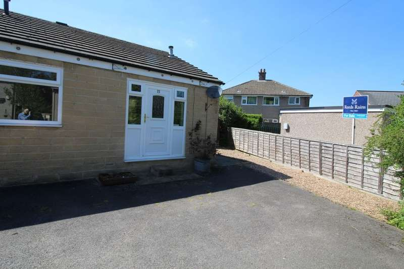2 Bedrooms Semi Detached Bungalow for sale in Simpson Road, Hebden Bridge, HX7