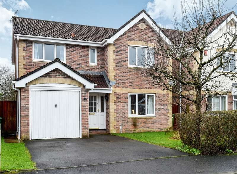 4 Bedrooms Detached House for sale in Pant Y Dderwen, Pontyclun
