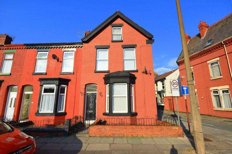 4 Bedrooms Terraced House for sale in Hartington Terrace, Garston