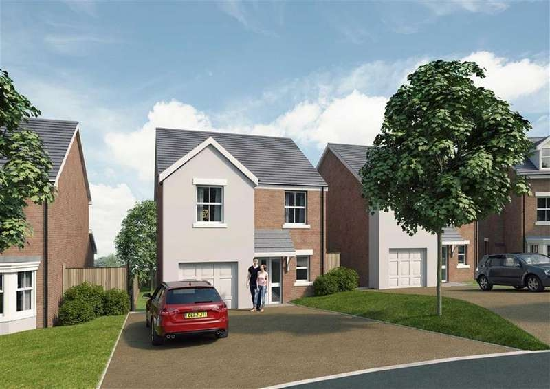 4 Bedrooms Detached House for sale in The Wentworth, Ruabon, Wrexham