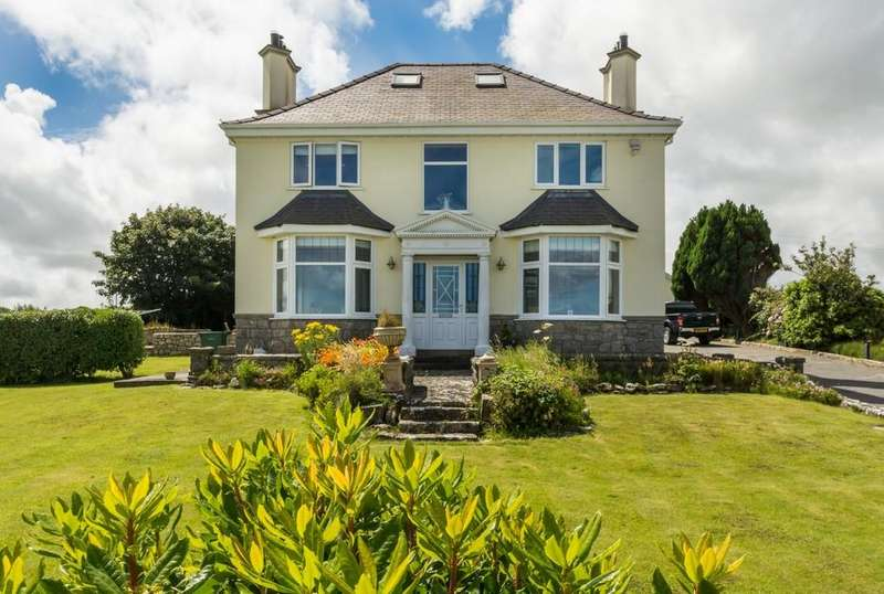 4 Bedrooms Detached House for sale in Llanallgo, Moelfre, North Wales
