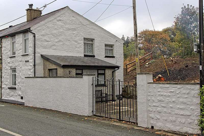 3 Bedrooms End Of Terrace House for sale in Antipodes Terrace, Criccieth, North Wales