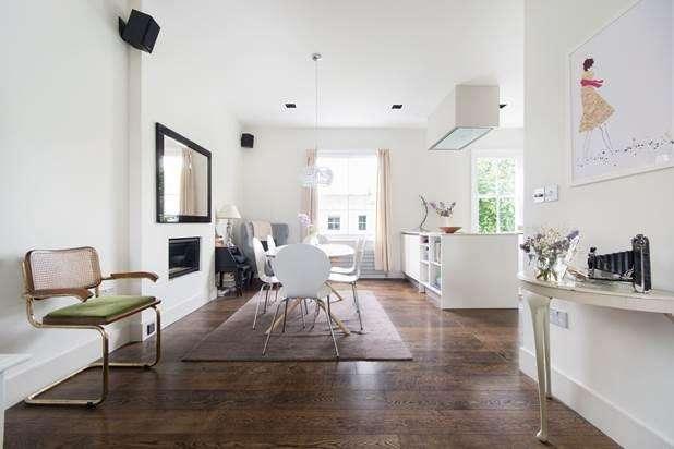 2 Bedrooms Flat for sale in Leamington Road Villas, London, W11