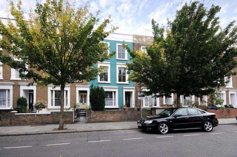 2 Bedrooms Maisonette Flat for sale in Coningham Road, Shepherds Bush, London, W12