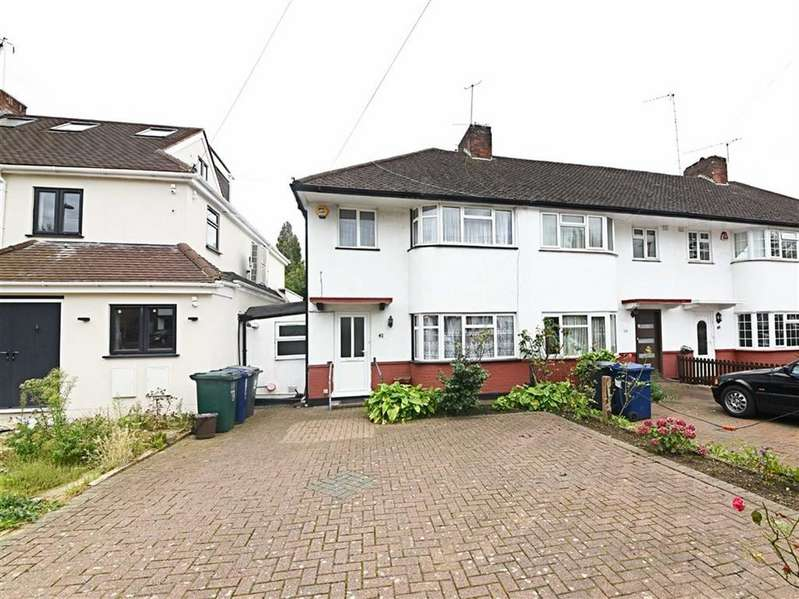 3 Bedrooms End Of Terrace House for sale in Devonshire Road, Mill Hill, London, NW7