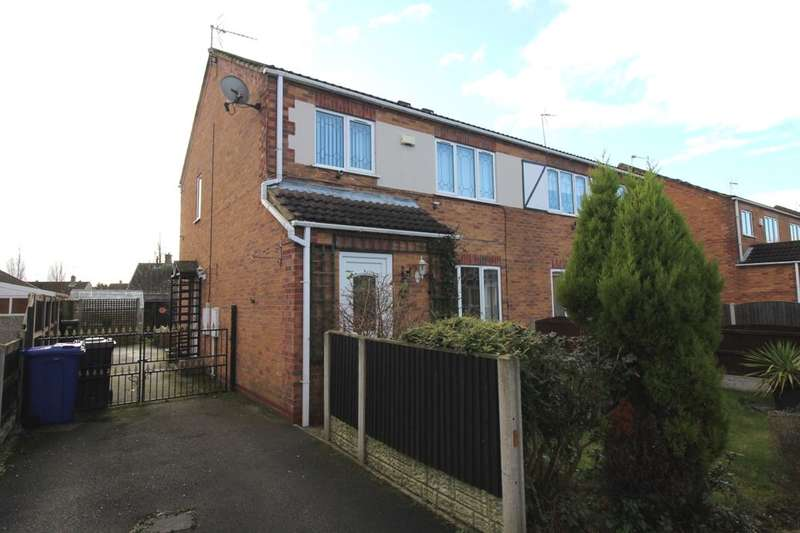 3 Bedrooms Semi Detached House for sale in Bloomhill Court, Moorends, Doncaster, DN8